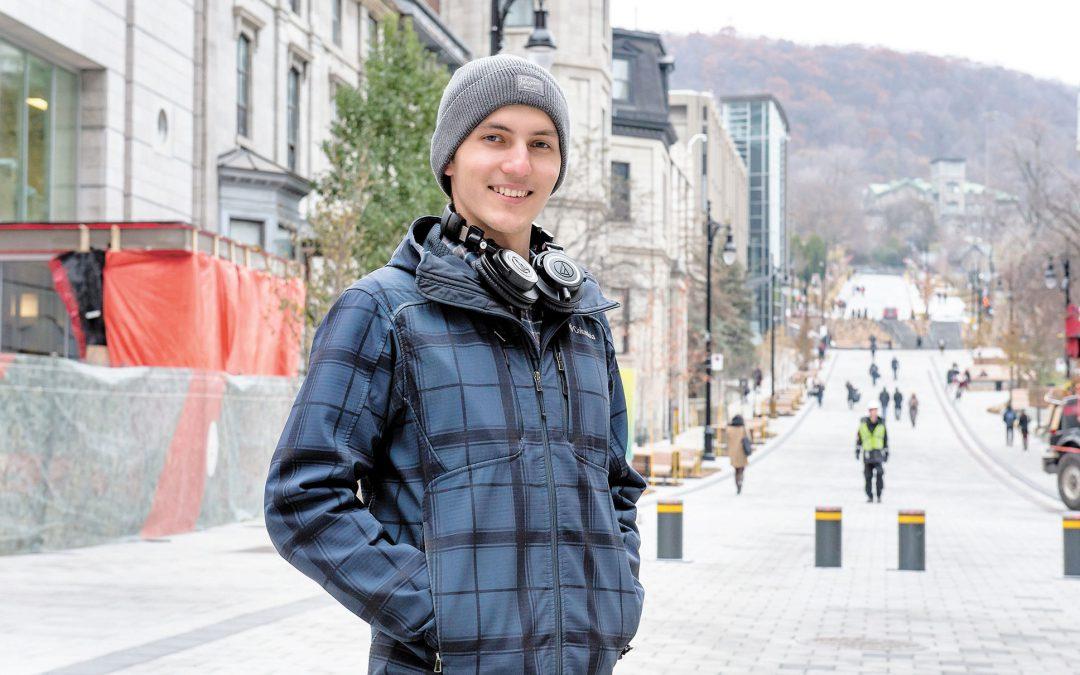 [Le Journal de Montréal] « Ça m'a forcé à m'ouvrir et à m'intégrer »