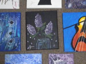 Une élève Passeport utilise les arts pour inspirer les autres