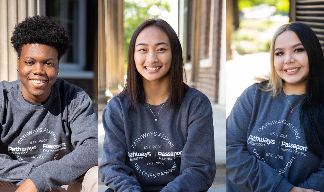Voici trois jeunes qui veulent redonner et bâtir notre avenir